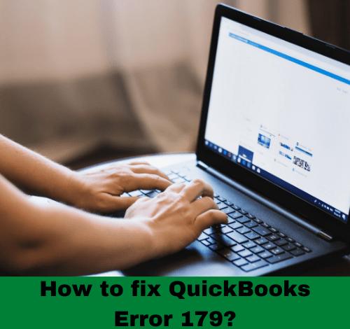 How to fix QuickBooks Error 179?