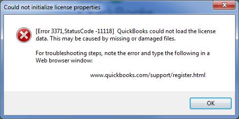 QuickBooks-Error-3371-Status-Code-11118