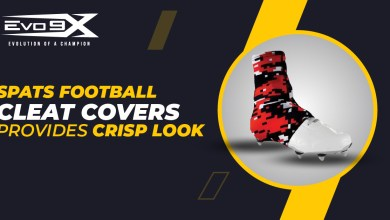 Photo of Spats Football Cleat Covers Provides Crisp Look