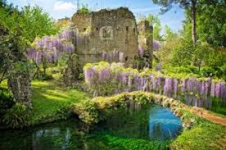 The Garden of Ninfa and Park of Monsters, Italy