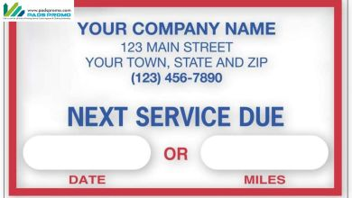 Photo of Customized Oil Change Stickers – A Great Way to Market Your Business
