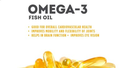 Photo of Health Benefit of Omega 3 and Fish Oil
