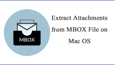 Photo of How to Download/Extract Attachments from MBOX File on Mac OS || Complete Guide