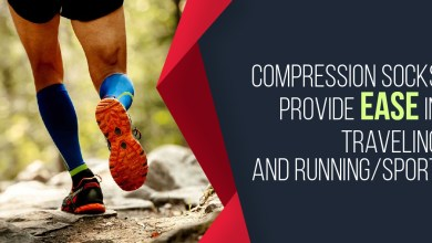 Photo of Compression Socks Provide Ease in Traveling and Running