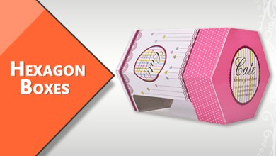 Photo of Hexagon Boxes send gifts to your loved ones in our custom hexagon boxes