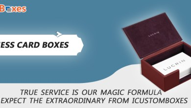 Photo of Give An Enchanting Look To Your Business Cards With Business Card Boxes