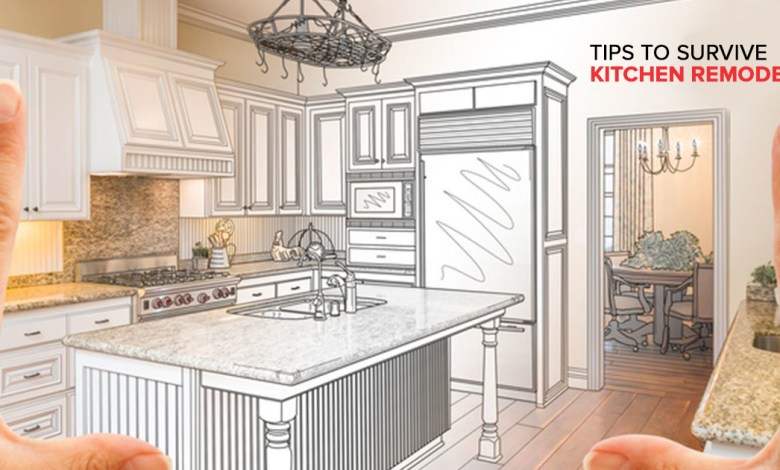 Tips to Survive Kitchen Remodel