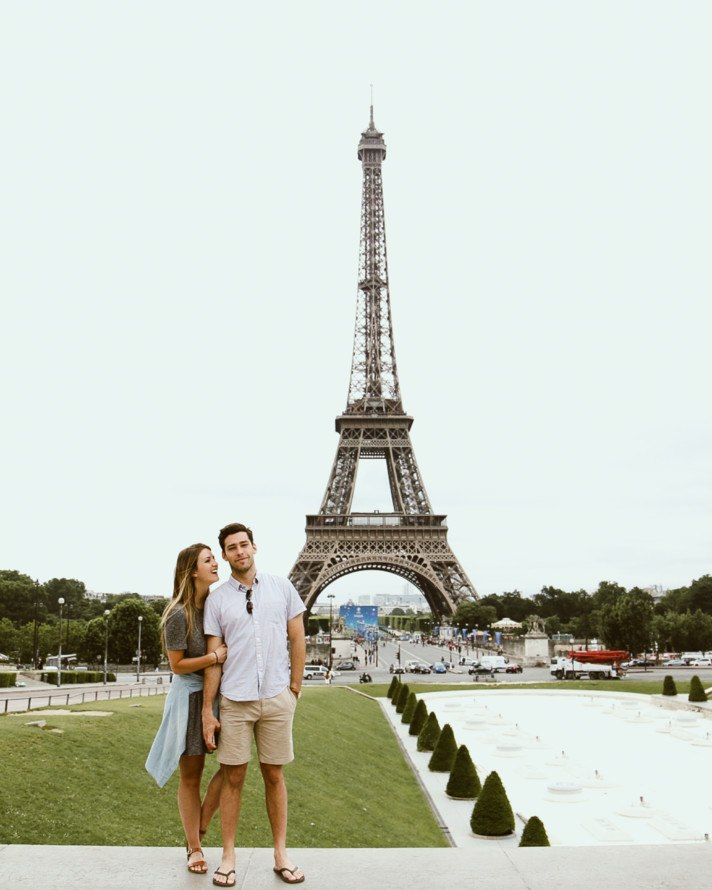 Romantic Paris Couples