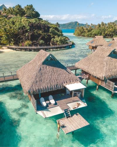 Staying at Conrad Bora Bora Nui • The Blonde Abroad