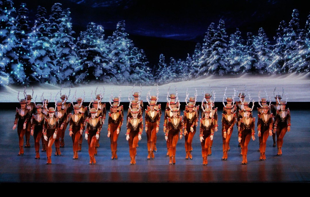 Rockettes in New York at Christmas