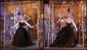 Lovely Gabor black gown