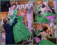 Lovely Miller green gown