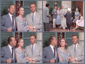High Society: Grace Kelly, Bing Crosby, John Lund, Frank Sinatra, and Celeste Holm