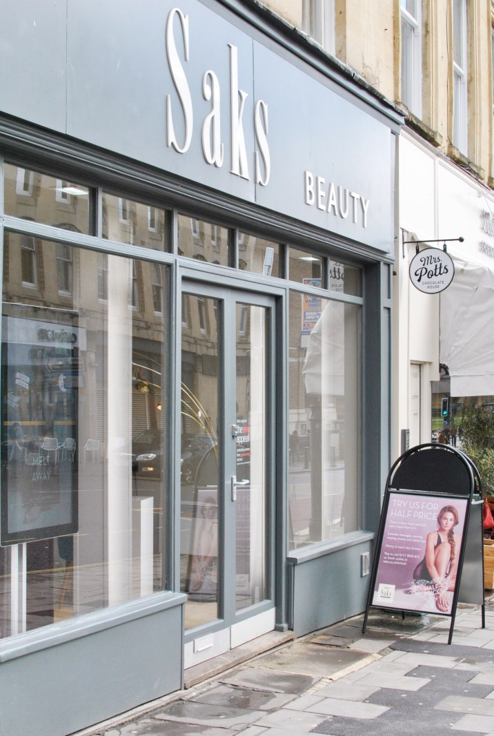 Pampering at Saks Beauty Bristol 1