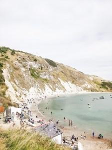 Lulworth Cove Dorset coastline