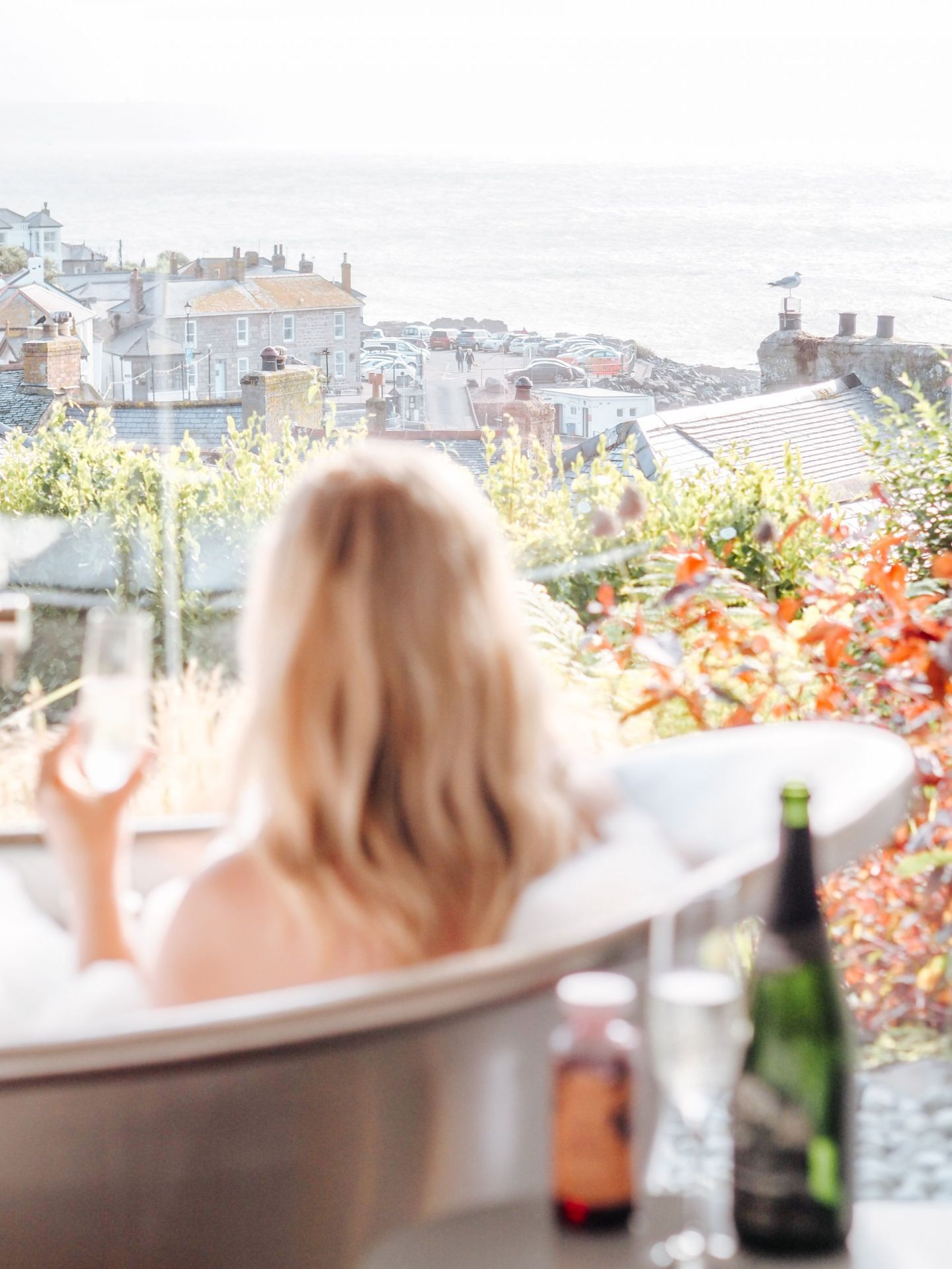 Blonde Wanderlust and A Luxurious Weekend in Cornwall