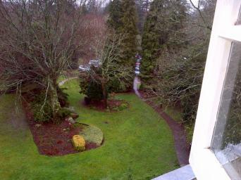 The garden at Queen's House.