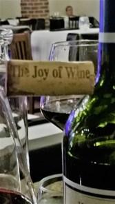 Very true, from the Rombauer Cabernet Sauvignon cork.
