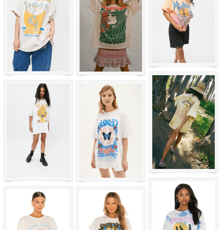 Graphic Tees We're Currently Loving (Summer 2021)