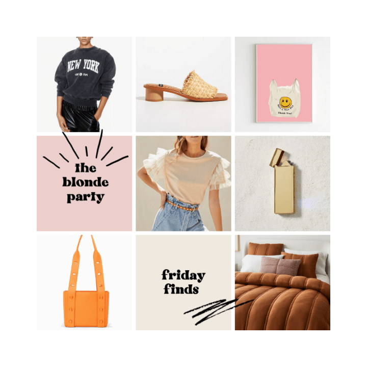 Friday Finds (7/9/21)