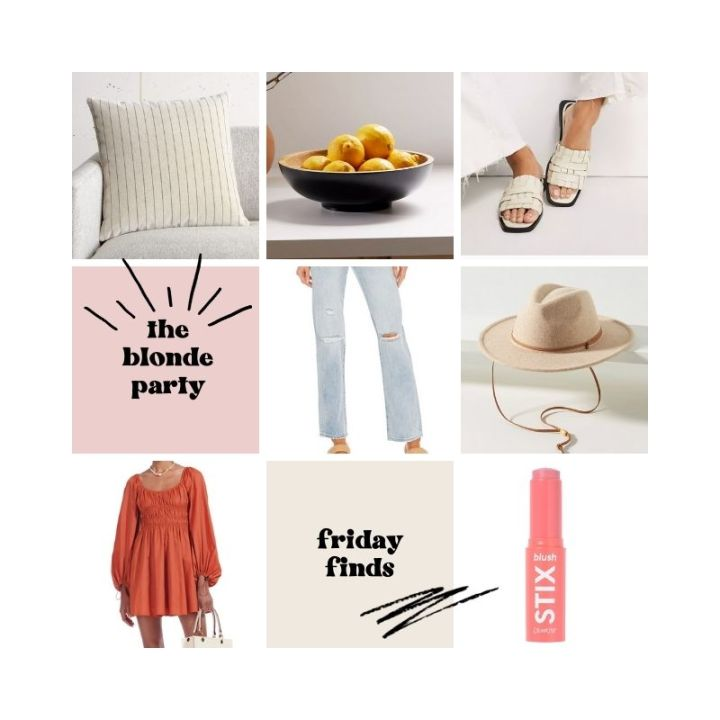 Friday Finds (7/30/21)