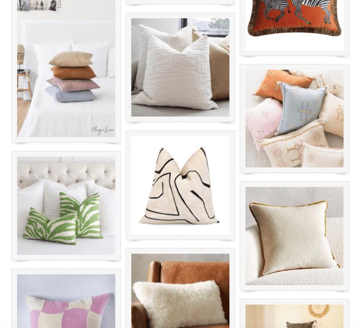 Throw Pillows We Love (Summer 2021)