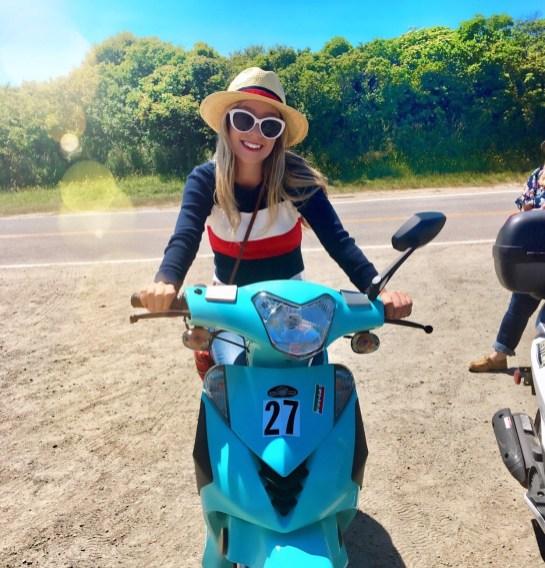 Vespa Ride through Block Island.