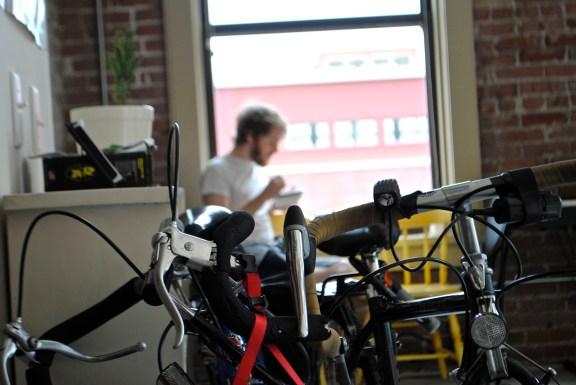 Bikes and breakfast.