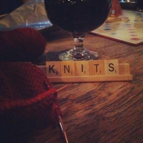 scrabble knits