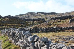 The path up to Dún Aonghasa,