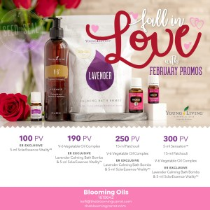 February Young Living Promos | The Blooming Carrot