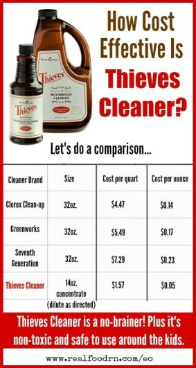 Thieves Cleaner: Cost Effective, Safe and Healthy! (AKA The Only Cleaner I Have In My House)