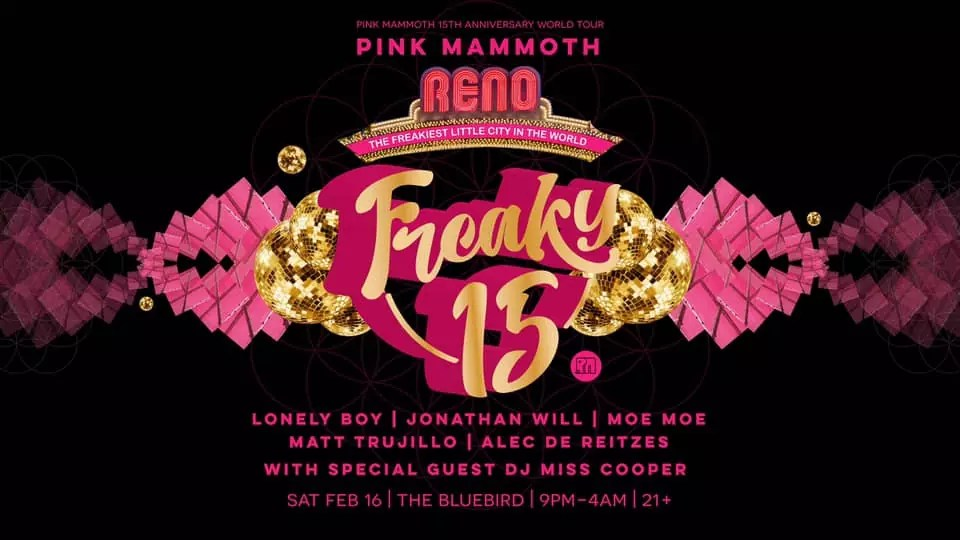 Pink Mammoth Freaky 15
