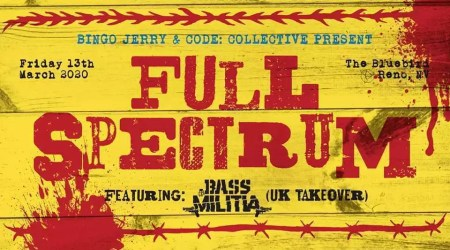 Full Spectrum Bass Militia UK Takeover