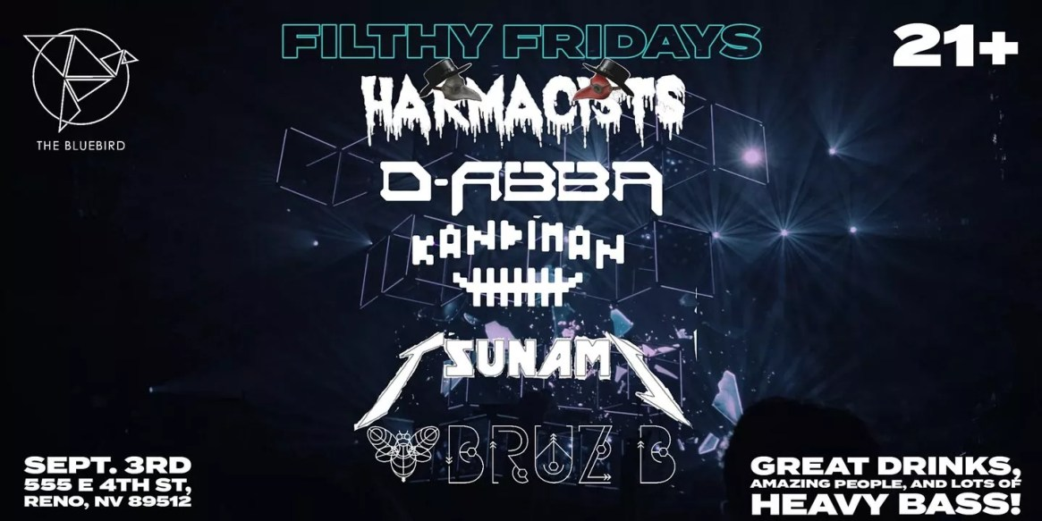 Filthy Friday Hosted by Harmacists Presented By The Bluebird