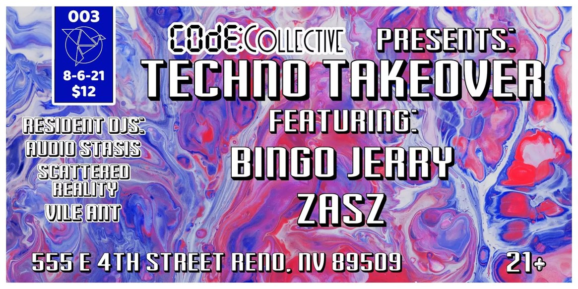 Techno Takeover Presented by Code Collective
