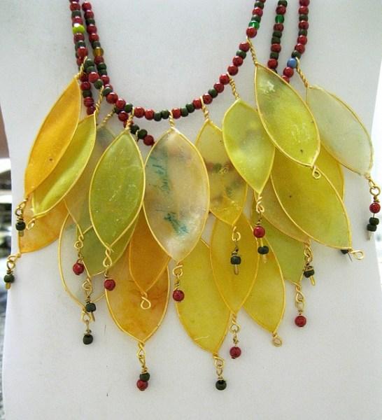 Leaf Necklace by Gilladian