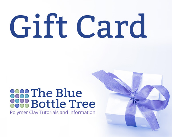 Gift Cards are available for your favorite polymer clay lover.