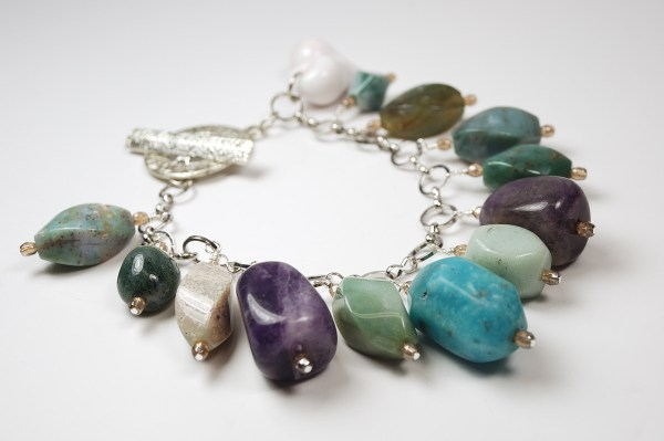 Bead Soup Rock Bracelet.
