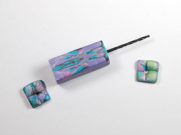 Make hand drill for polymer clay with natasha bead handle at The Blue Bottle Tree
