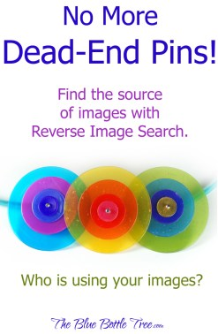 Learn how to use Reverse Image Search to find the source of the images you see in pins, on Facebook, and on Tumblr. Are your images used by others as well? Find out more...