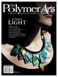 The summer 2014 issue of The Polymer Arts features a tutorial for Luminous Landscapes in Polymer Clay by Ginger Davis Allman.
