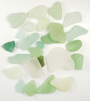 faux vs real beach glass