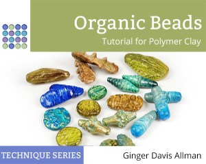 Make polymer clay beads with unique organic shapes in this comprehensive tutorial from The Blue Bottle Tree.