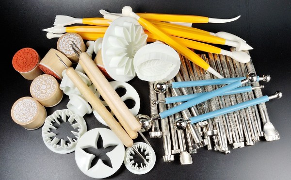 You can find all kinds of cheap polymer clay tools on Amazon or other sellers who feature direct sellers from China.