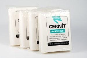 Cernit polymer clay.