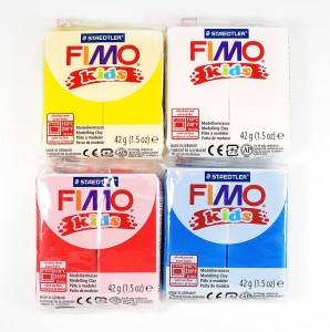 Fimo kids is the best polymer clay brand for children. Read about other brands at The Blue Bottle Tree.