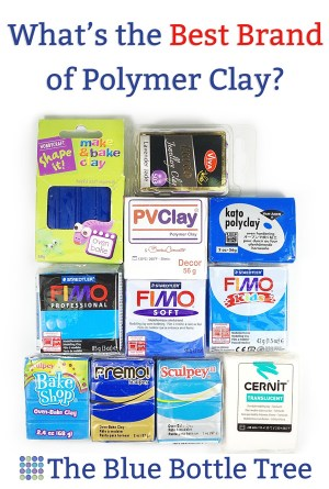 What is the best polymer clay brand? Learn about each brand and find what they're best used for.