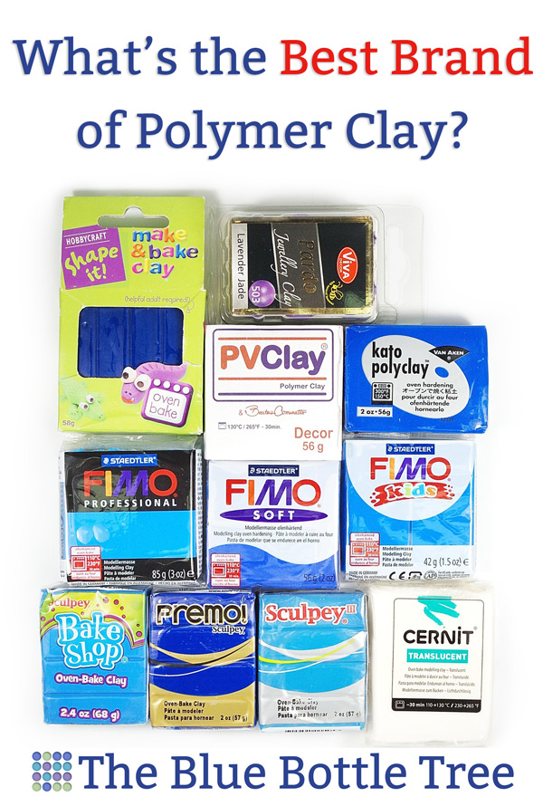 Whats The Best Polymer Clay Brand The Blue Bottle Tree