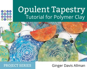 Opulent Tapestry Tutorial for polymer clay from The Blue Bottle Tree.